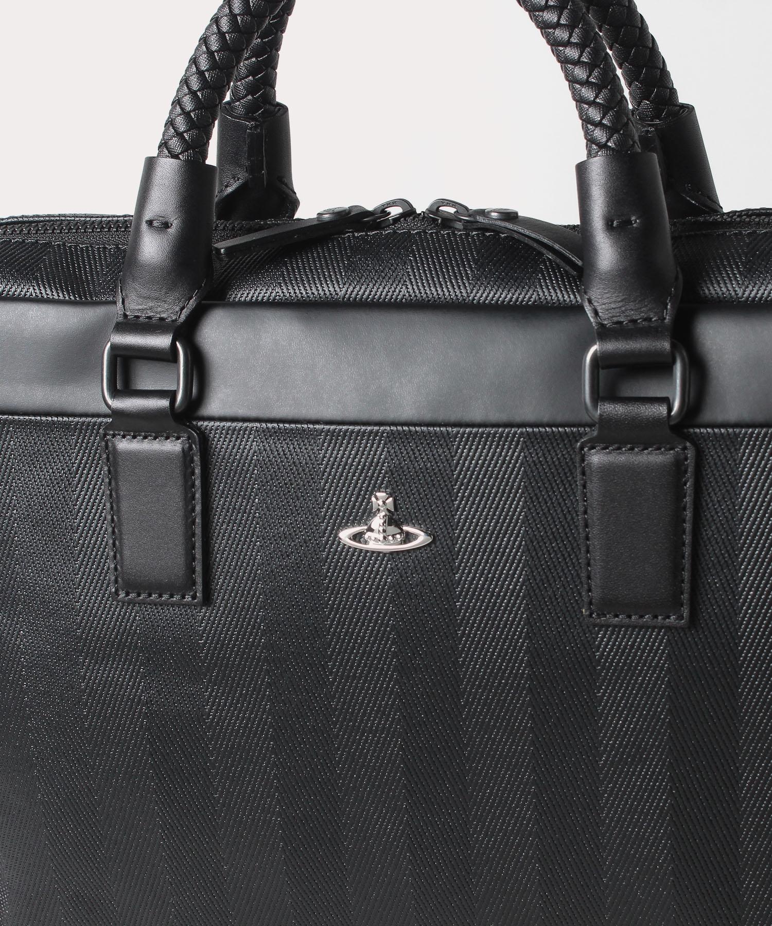 メッシュグリップ メンズビジネスバッグ