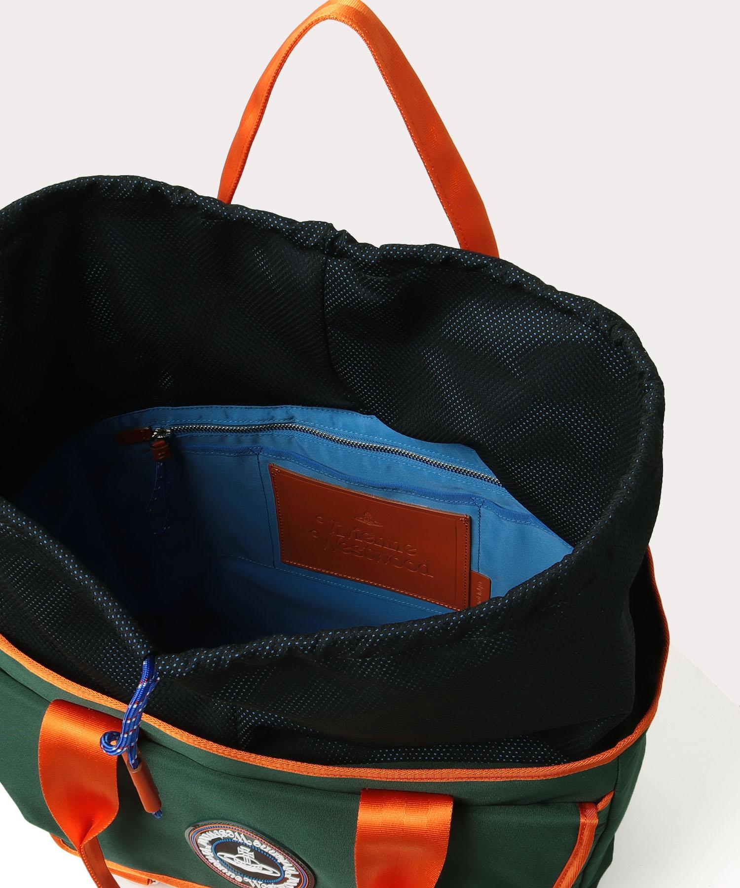 ダブルフラップ メンズトートバッグ