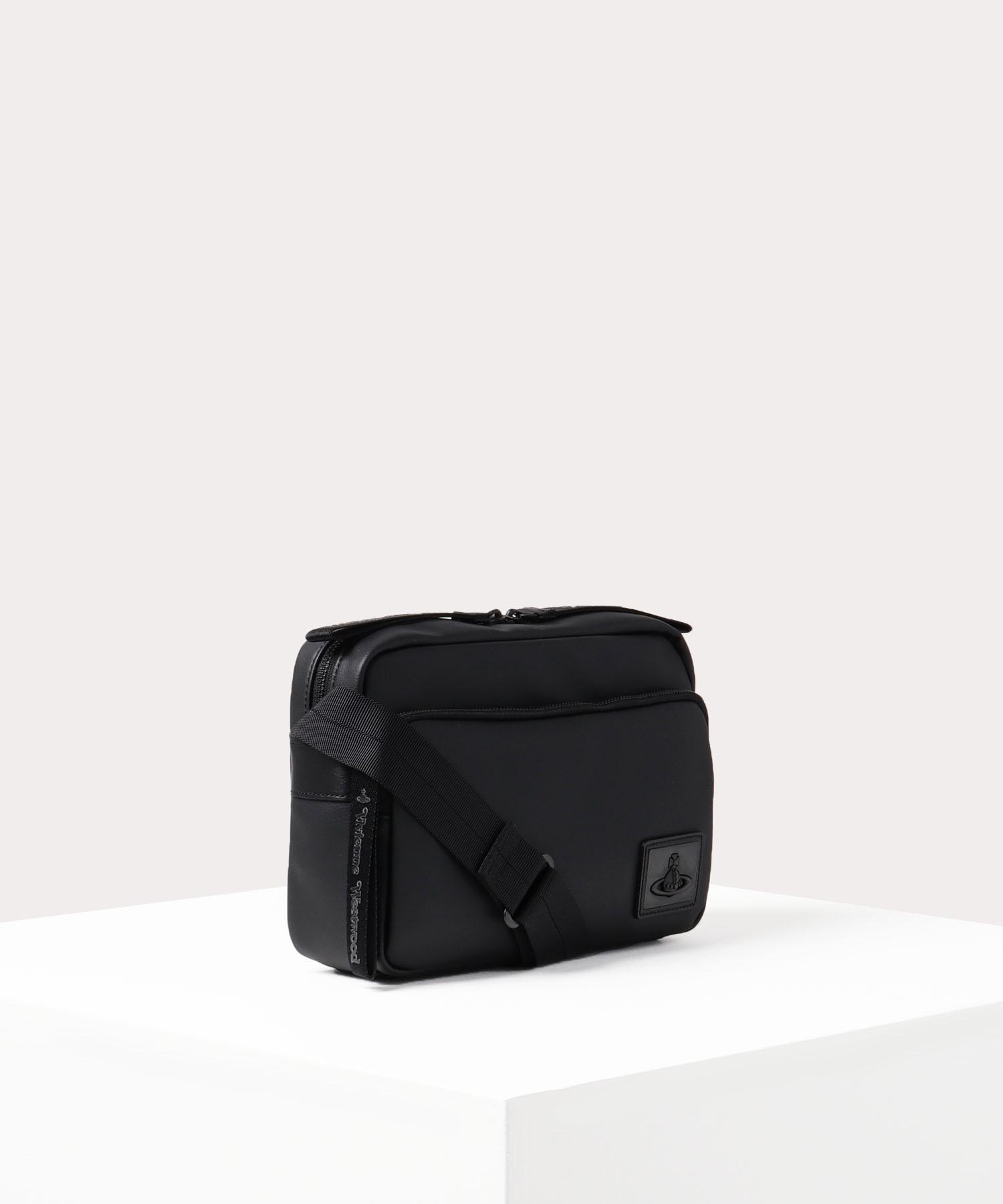 ORBプレート メンズショルダーバッグ