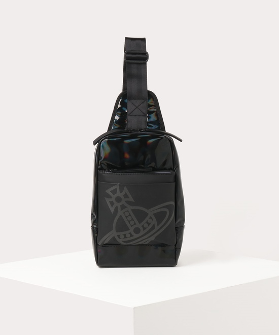 ホログラム メンズボディバッグ