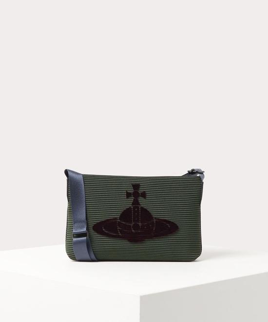 クルーカットORB メンズショルダーバッグ