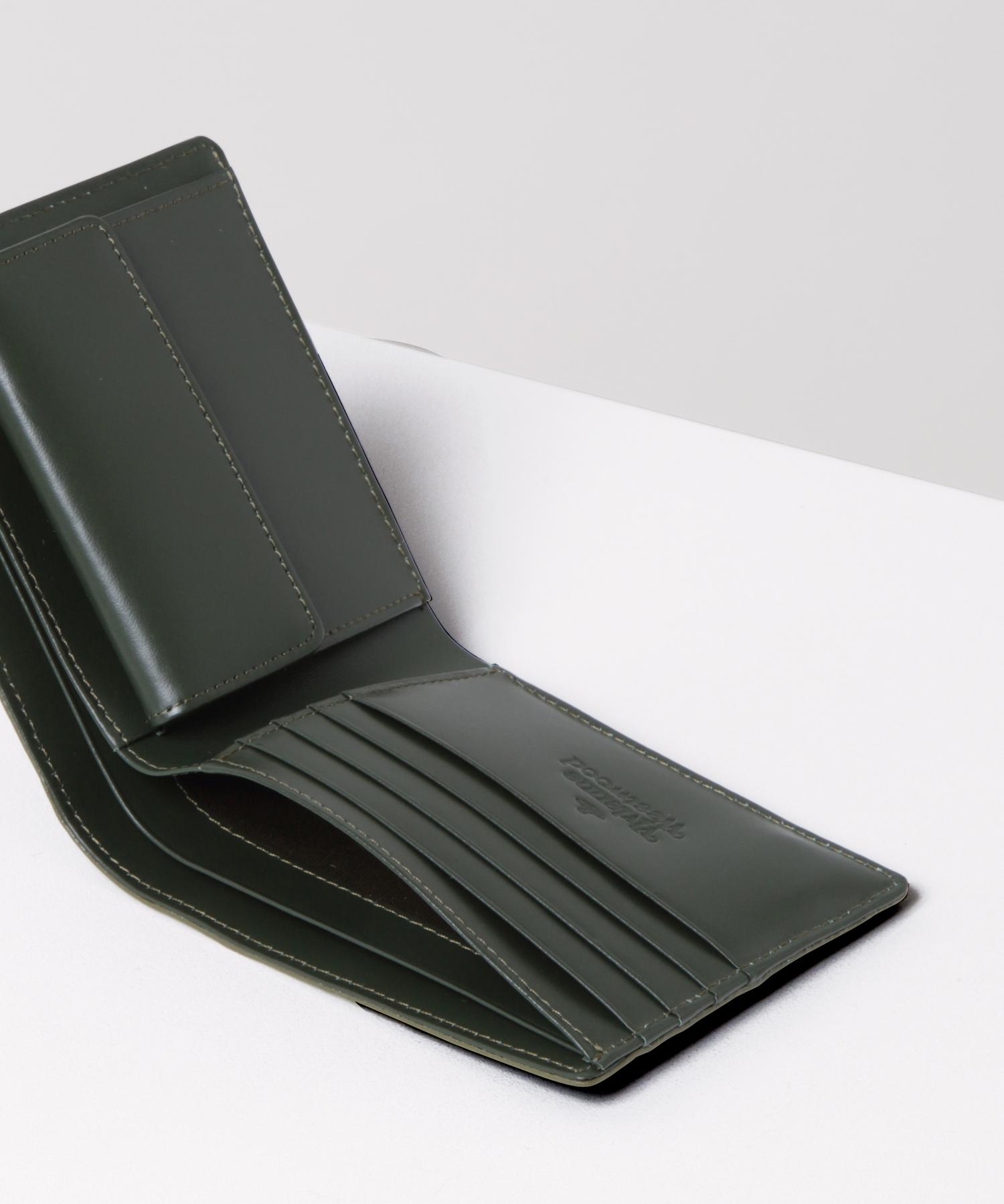 WATER ORB エンボス 二つ折り財布