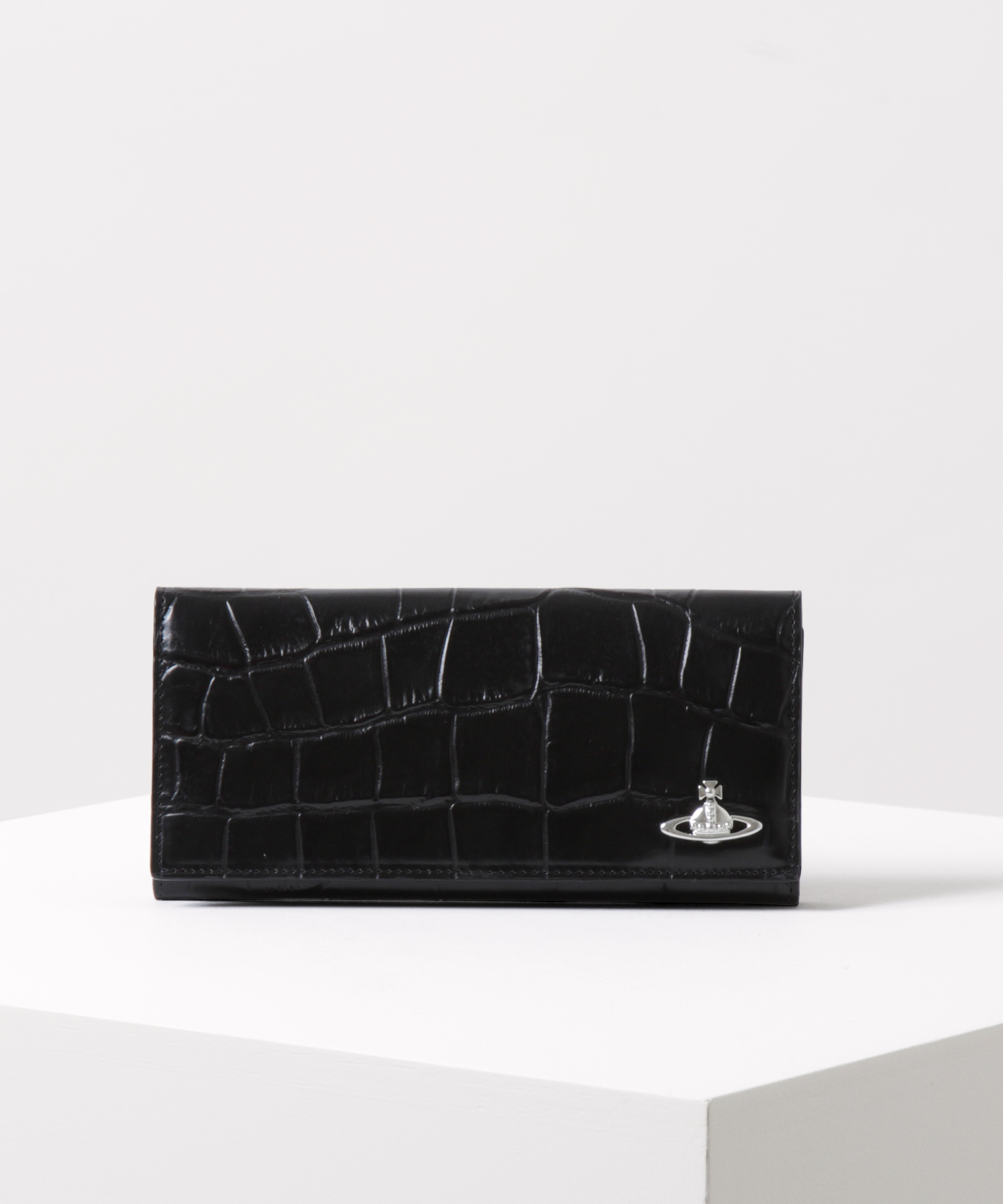 クロコ 長財布