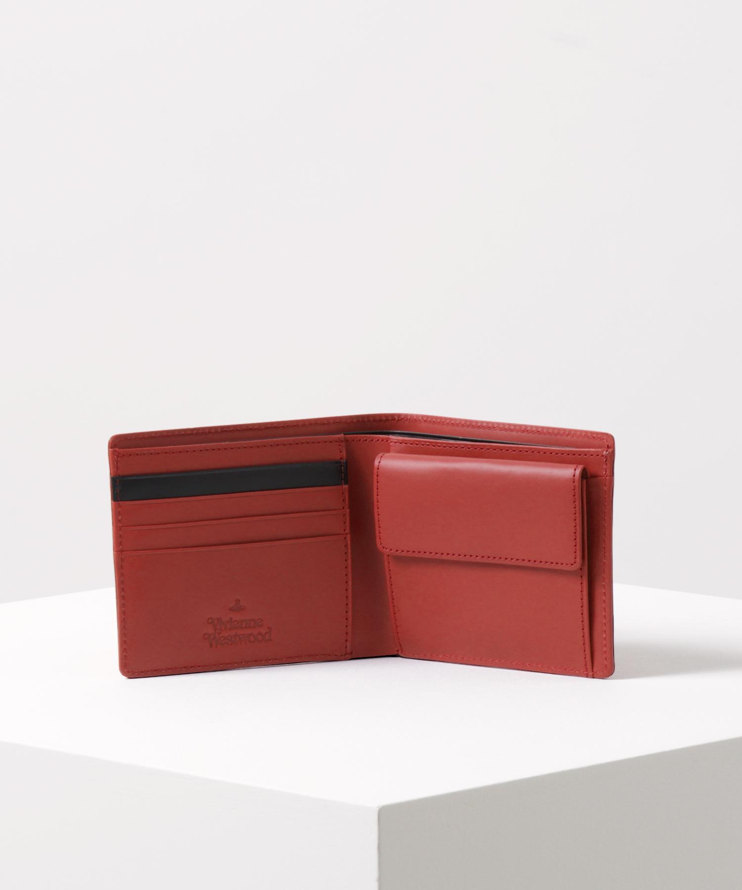 ラバーカラーORB 二つ折り財布