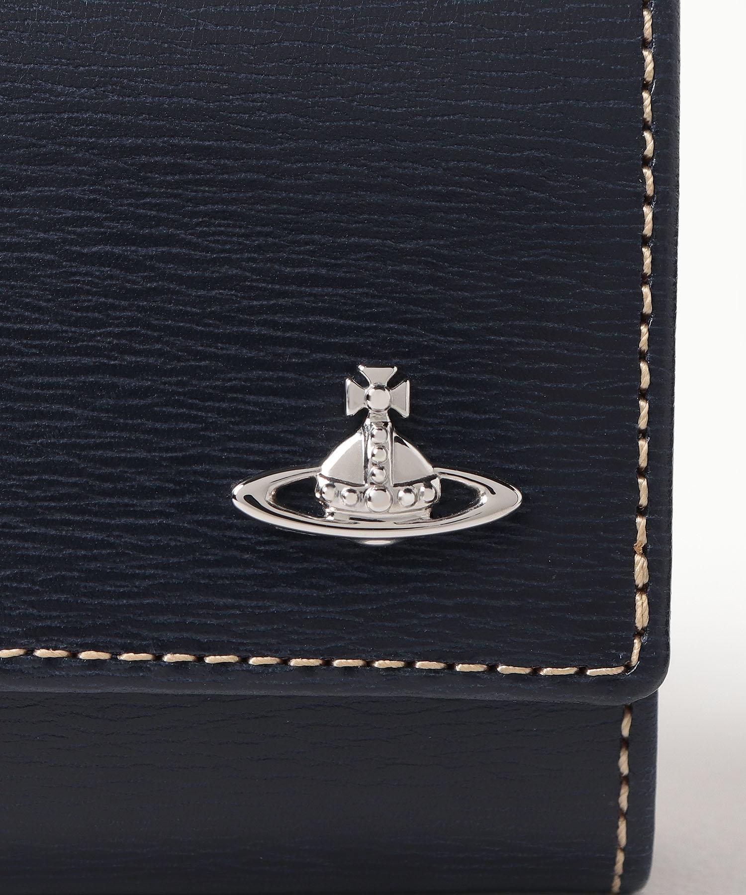 インサイドカラー 三つ折り財布