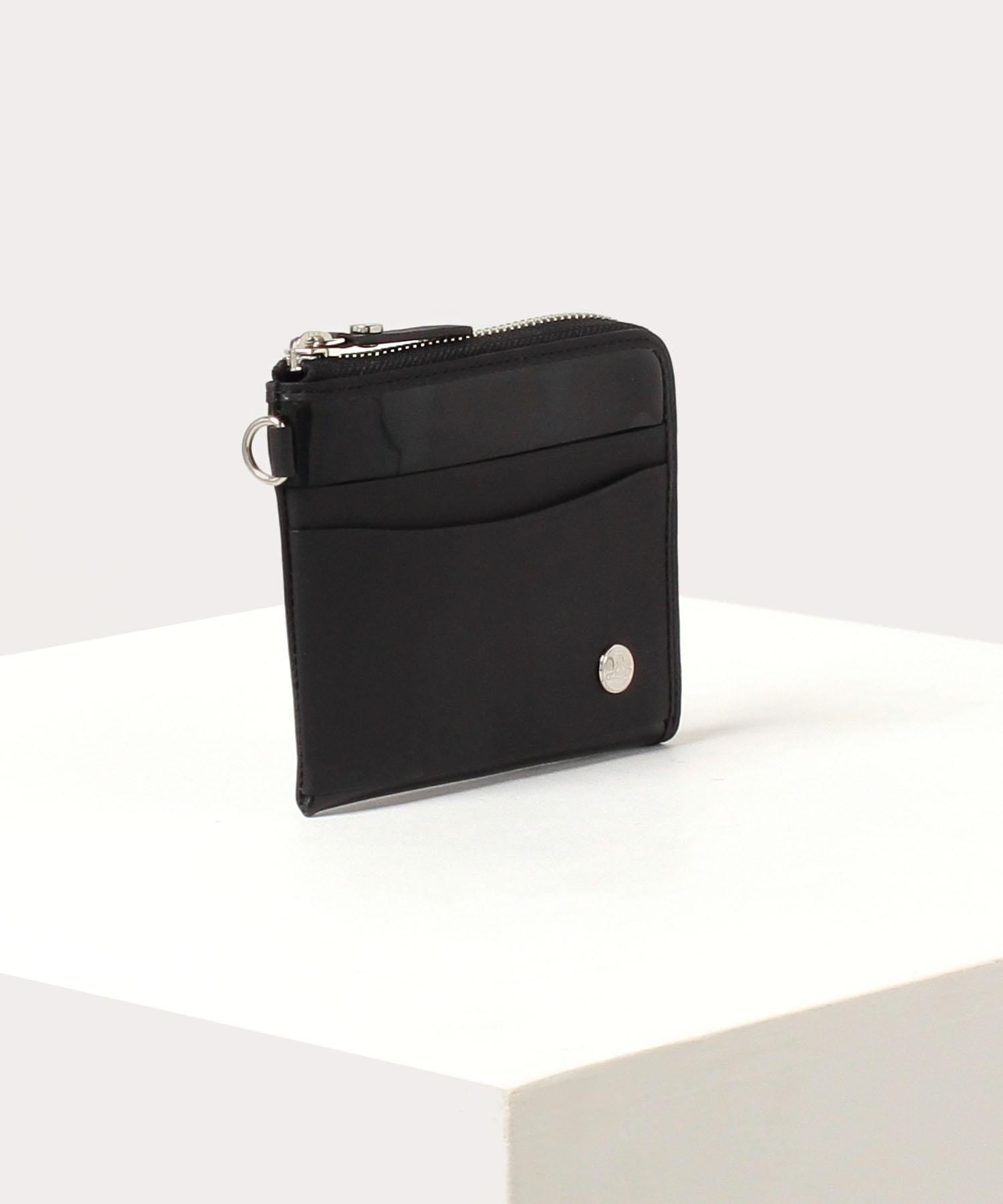 ホログラム L字ファスナー財布