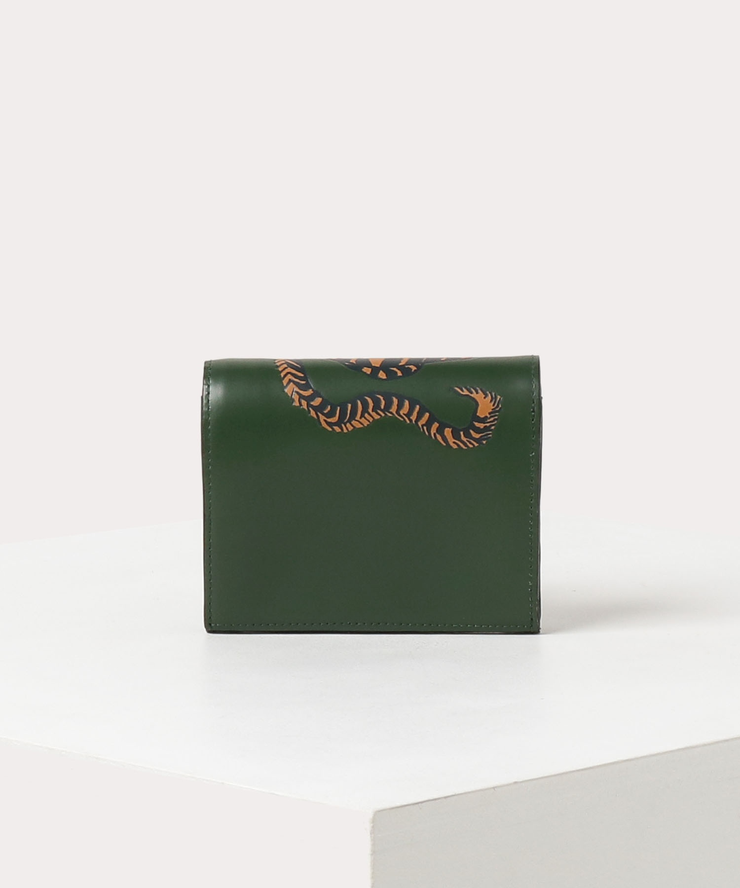 ファイティングタイガー 二つ折りミニ財布