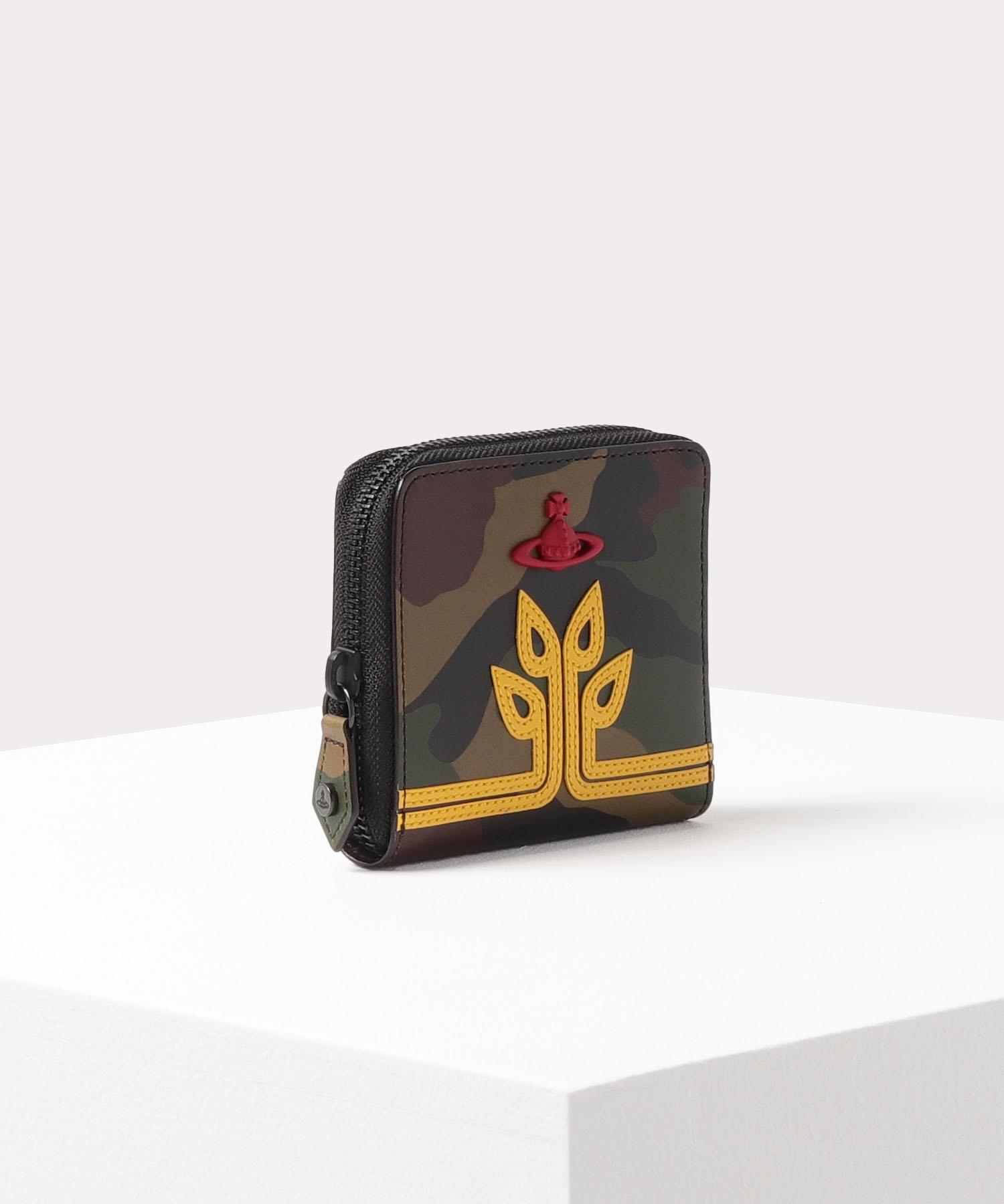 シードツリーORBカモフラージュ ラウンドファスナー二つ折り財布