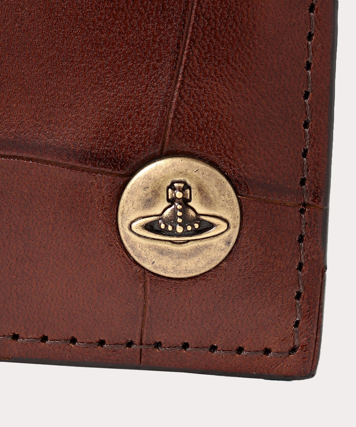 クロコII 二つ折り財布