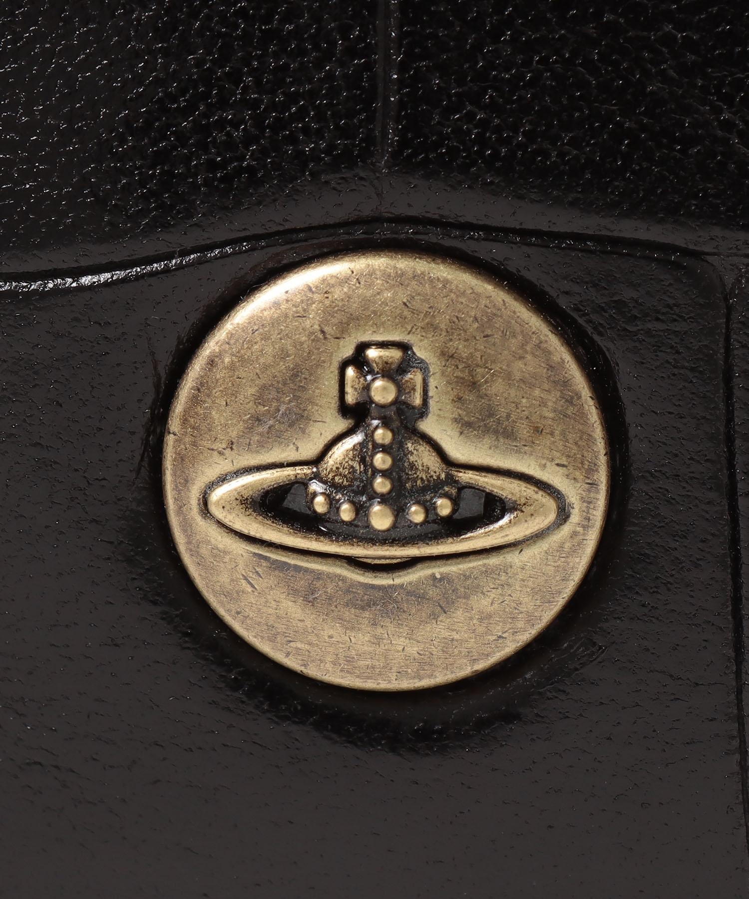 クロコII コンパクト二つ折り財布