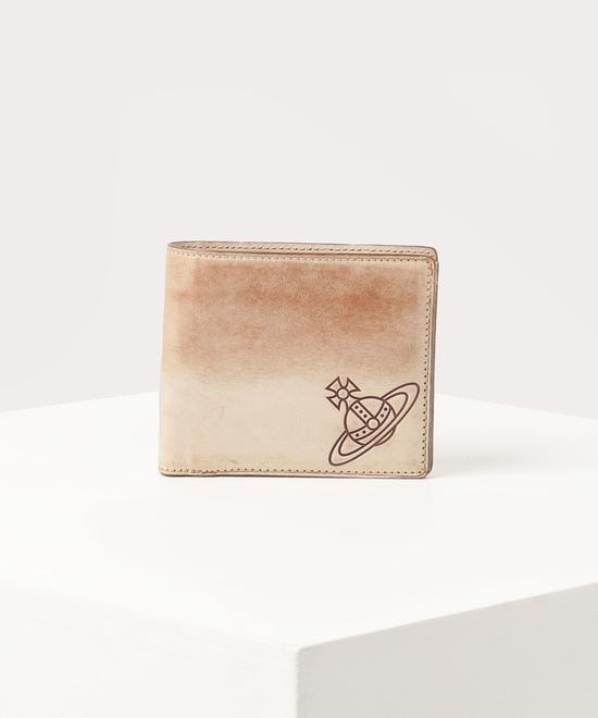 ワックス 二つ折り財布