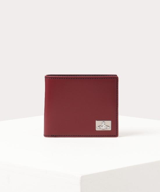 カラーステッチ 二つ折り財布