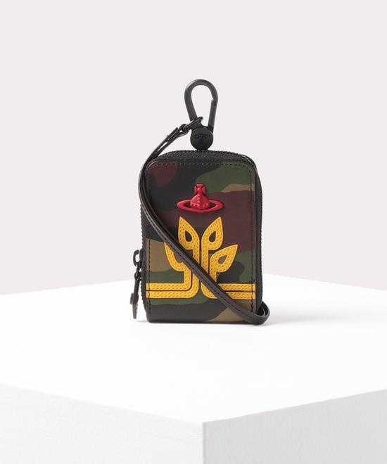 シードツリーORBカモフラージュ ストラップポーチ