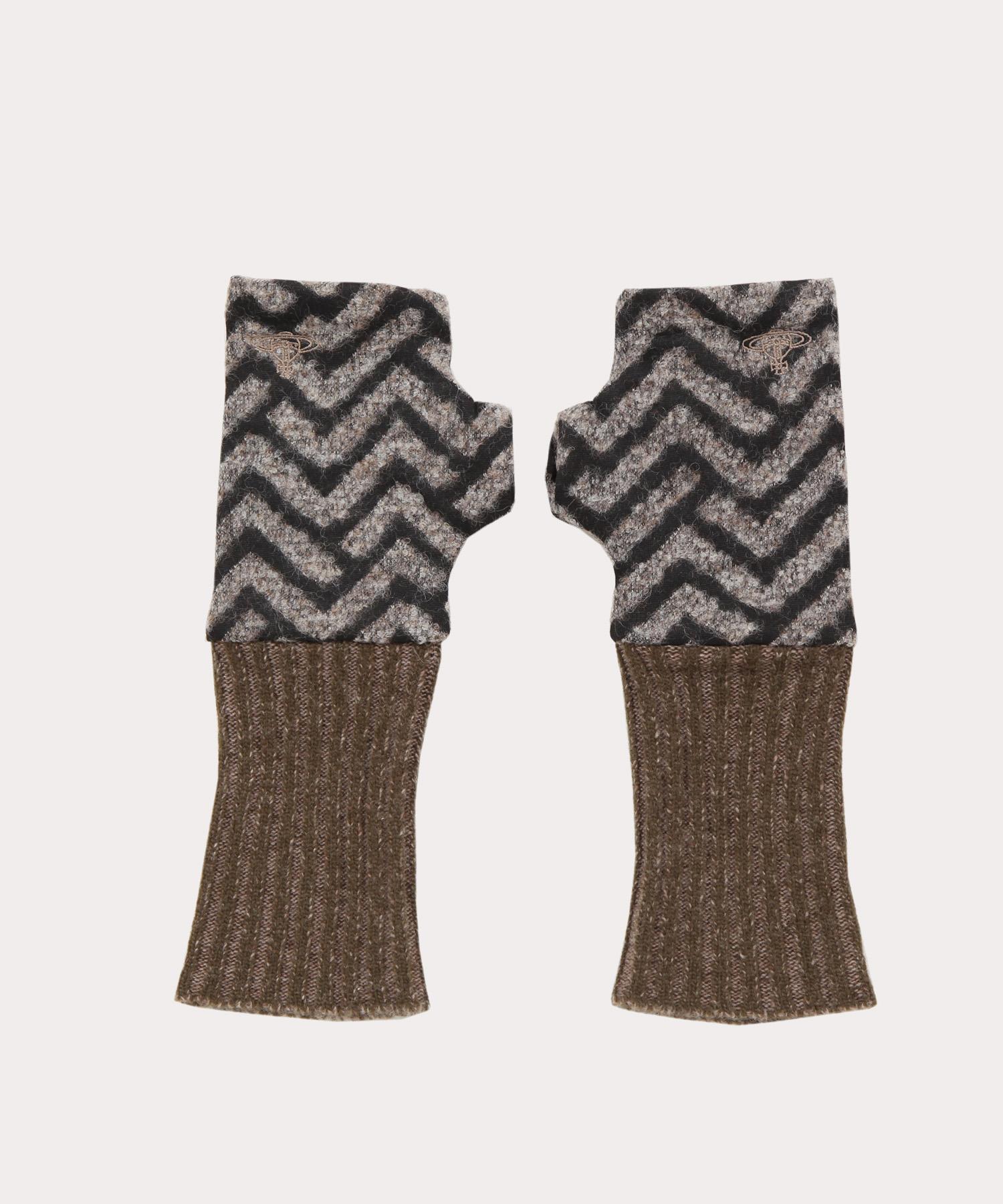 ヘリンボーン ミテーヌ手袋