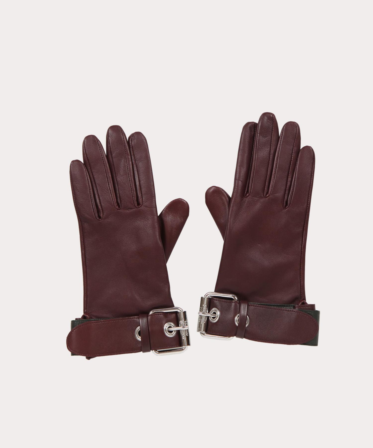 ビッグバックル レザー手袋