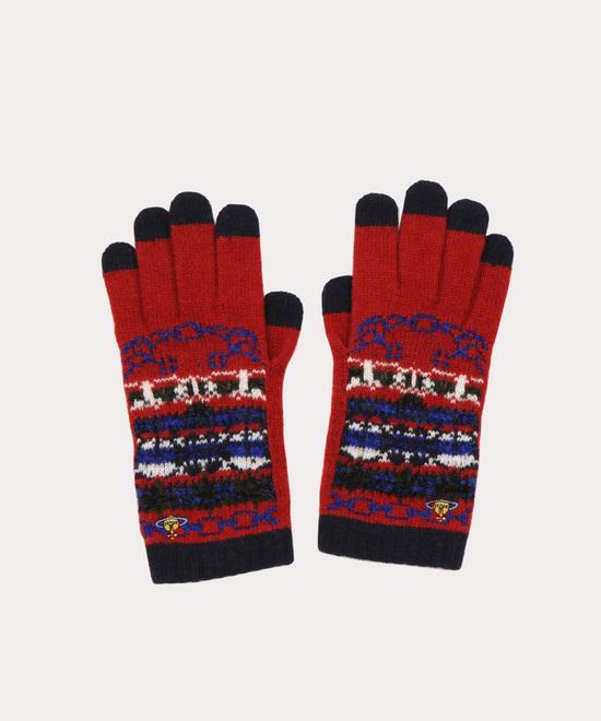 ディープスカイ ニット手袋