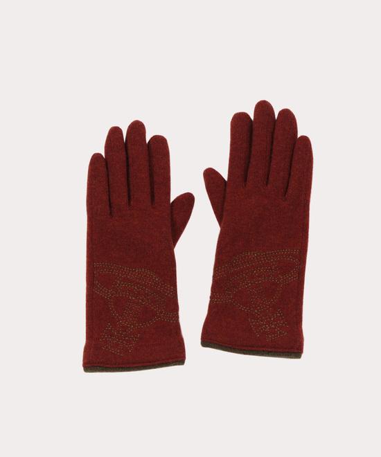 BIG ORB刺繍 手袋