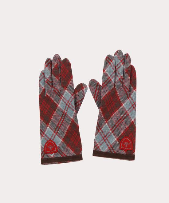 レッドレーベルタータン 手袋