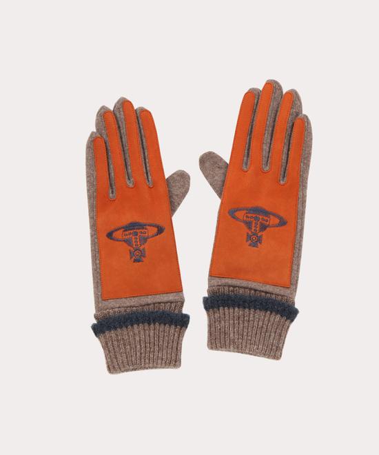 ORB刺繍 手袋