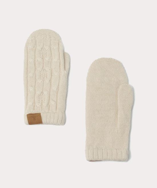 ベビーアルパカ ミトン手袋