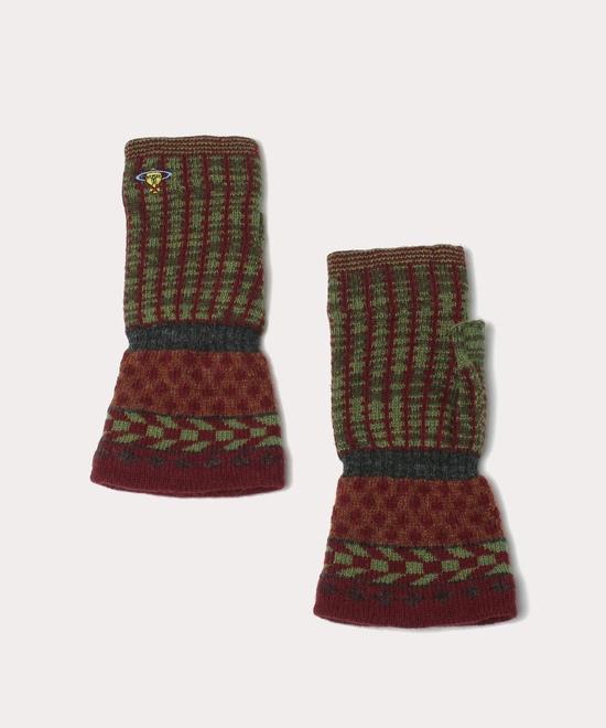 ニットウェア フィンガーレス手袋