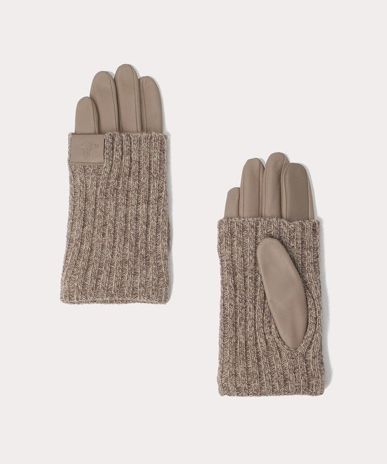 ロングリブニットカフス 手袋