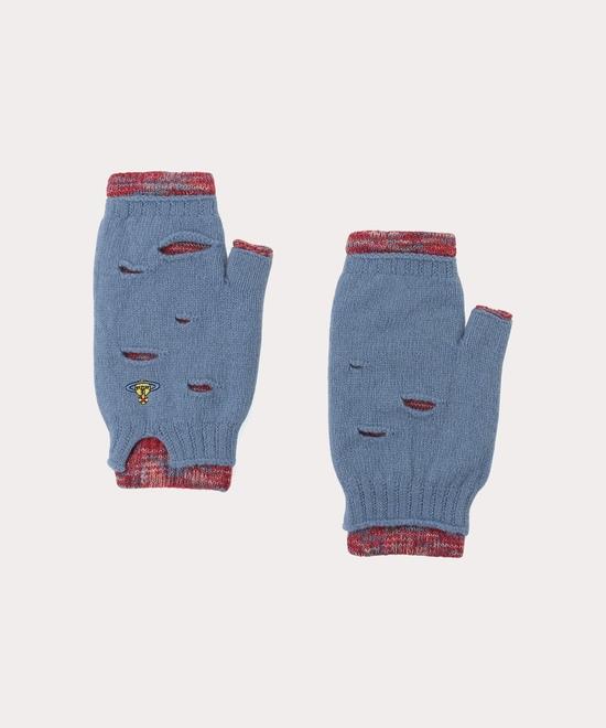 パンク レイヤード手袋