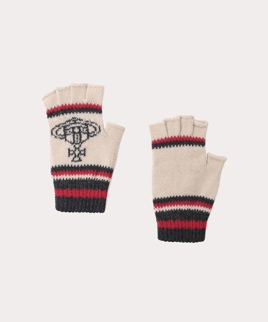 ボーダー×ORB フィンガーレス手袋