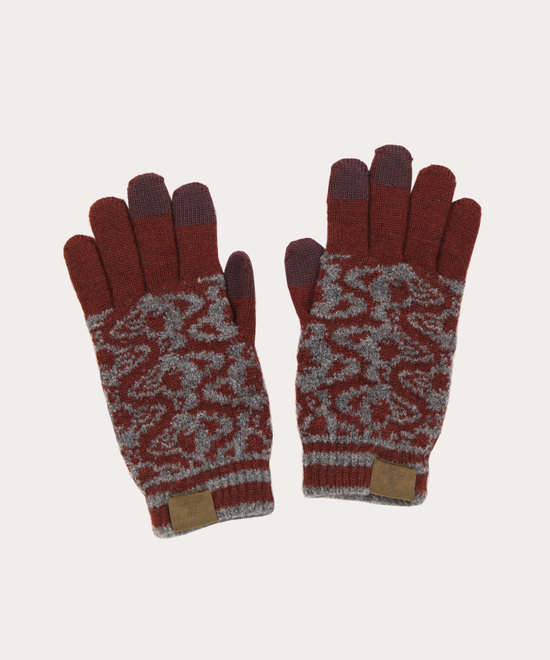 クレヨンORB メンズニット手袋
