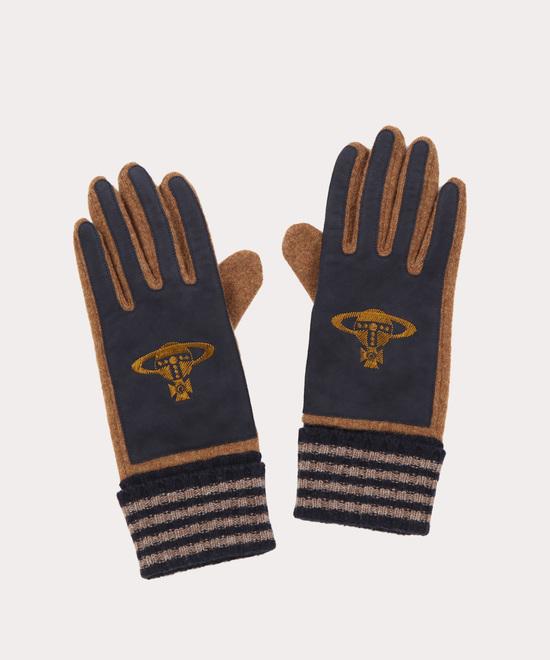 ORB刺繍 メンズ手袋