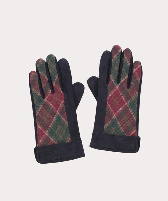 レッドレーベルタータン メンズ手袋
