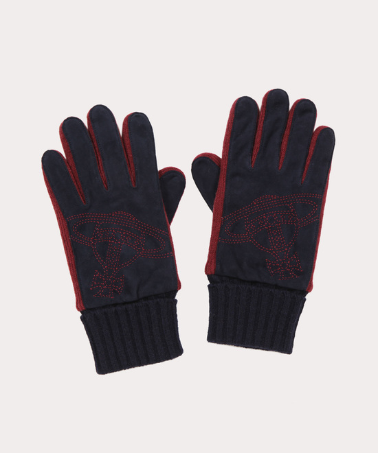 BIG ORB刺繍 メンズ手袋