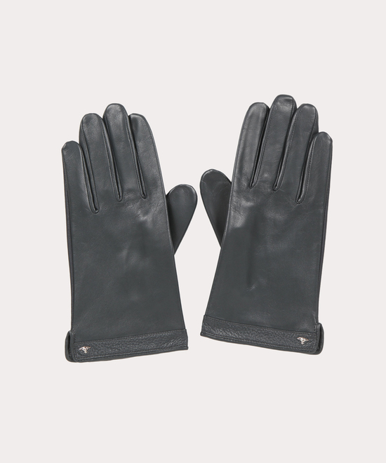 ワンポイントORB メンズレザー手袋
