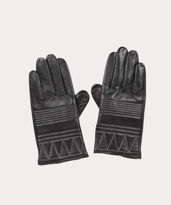 キルティング メンズレザー手袋
