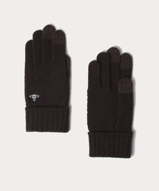 ベーシック メンズニット手袋