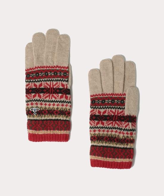フェアアイル メンズ手袋