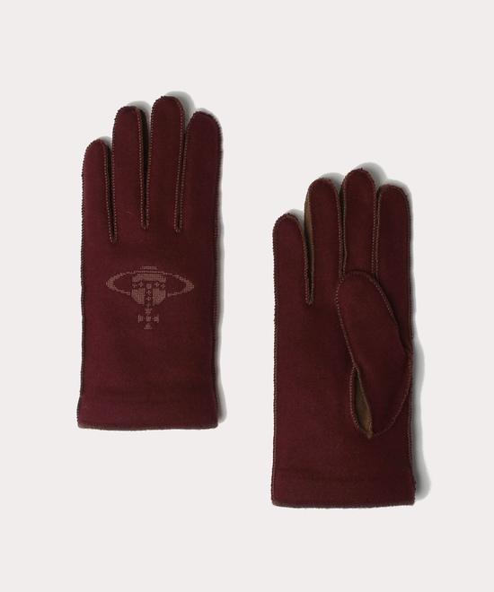 クロスステッチORB メンズ手袋
