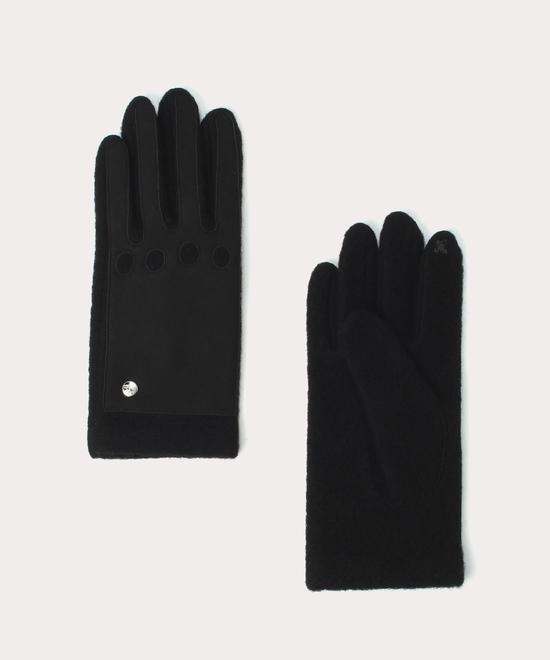 異素材コンビ メンズ手袋